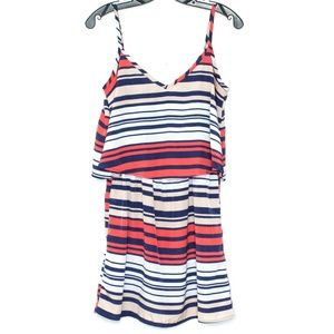 3/$20 BeBop Striped Dress Womens Medium